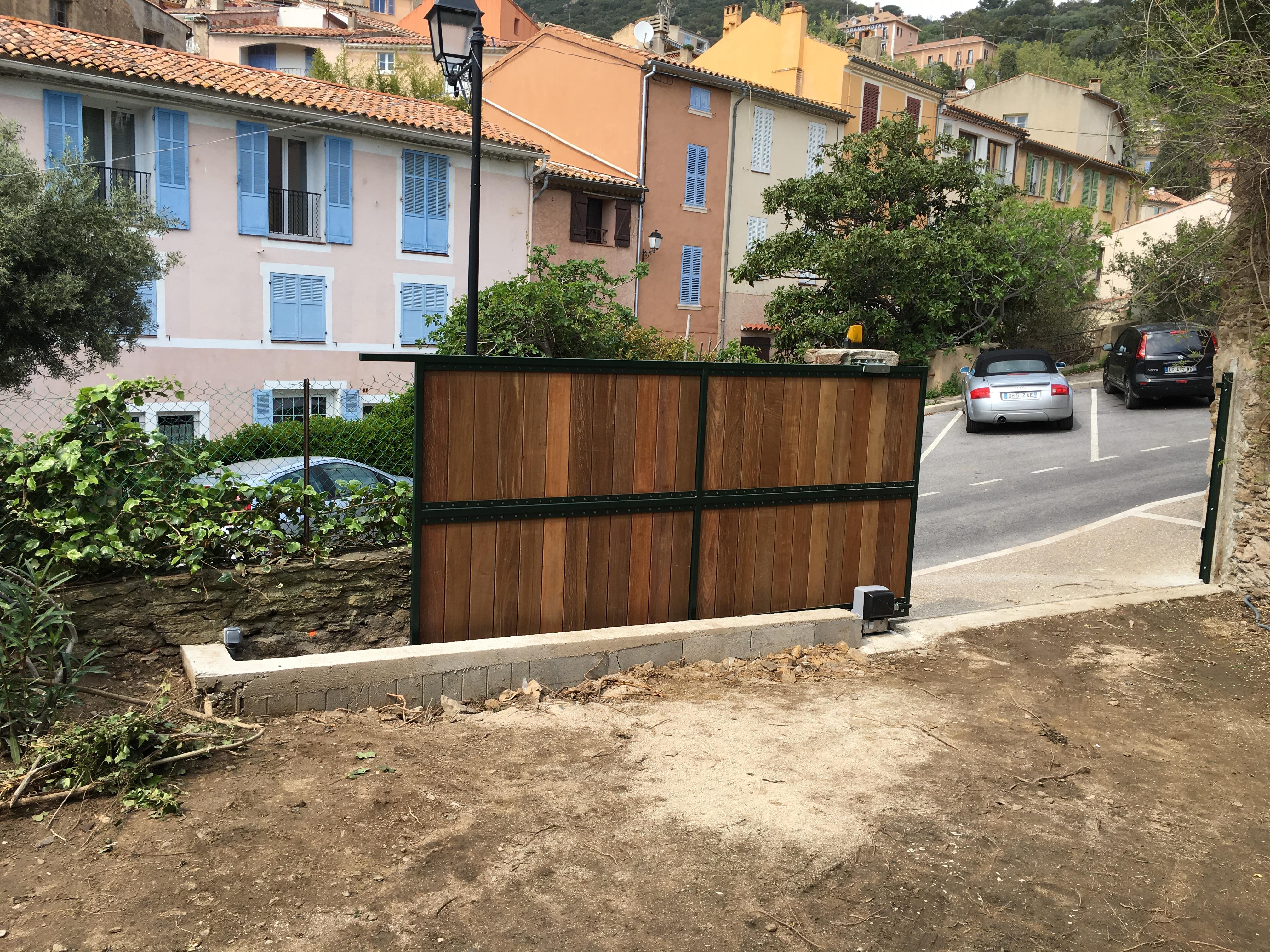 portail Bois Coulissant 10
