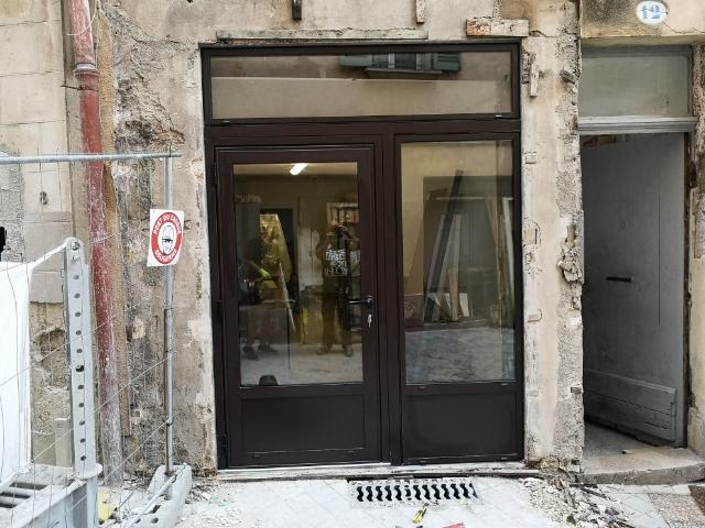 Porte d'entrée alu 2